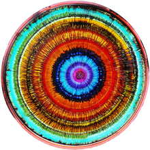 Wheel of Fortune by Deborah Argyropoulos, Mixed Media on Metal