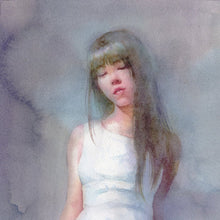 White Dress by Matsubayashi, Transparent Watercolor