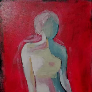 Woman by Ljupka Mitic-Madic, Acrylic on Canvas