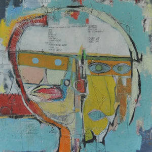 Identity Crisis by Tony Butler, Mixed Media on Canvas