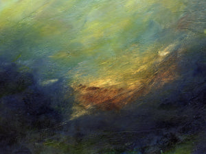 Ambient Traces by Cliff Warner, Oil on Canvas
