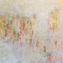 Ascending (Soul Series) by Lori Burke, Mixed Media on Canvas