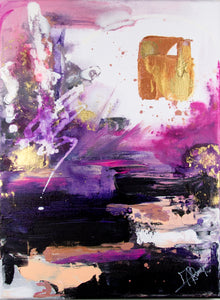 """Panama Purple"" By Amanda Remmington, Acrylic on Canvas"