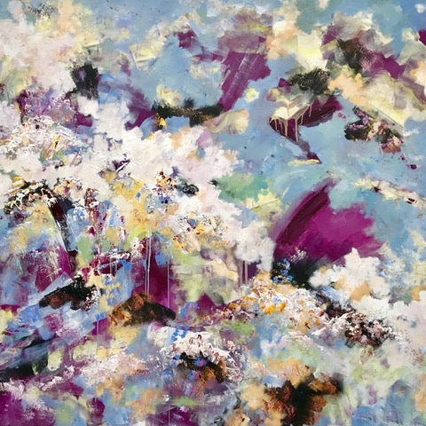 Ascension by Graham Jones, Acrylic on Canvas