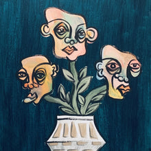 """""Growth Spurt"" by Sierra Cox, Acrylic on Canvas"