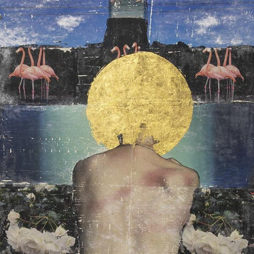 Star. Day. Im Not Going to Fall Again, by Anna and Valeriia Lyshchenko, Collage on Linen Canvas