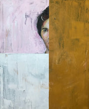 The Male Gaze by Anna Wilhelmsson, Mixed Media on Canvas