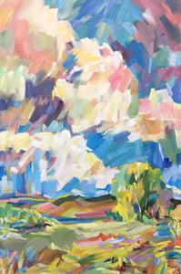 """Summer's Day"" By Kenneth Singmaster, Acrylic on Canvas"