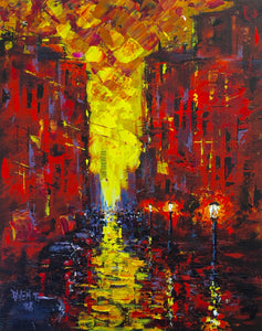 Incandescence by Daven Tyler, Acrylic on Canvas