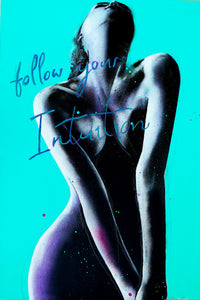 """Follow your Intuition"" by Josianne Fiset, Acrylic on Canvas"