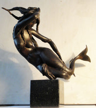 """Mermaid"" by Maxim Titov, Casted B ronze, Patina"