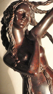 """Fable"" by Maxim Titov, Casted Bronze, Patina"