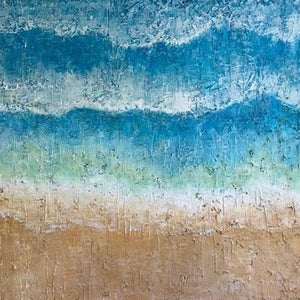 """Shifting Tides"" By Juanita D Holley, Acrylic on Canvas"