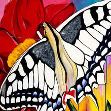 """Butterfly No.1"" By Rocky Asbury, Mixed Media"