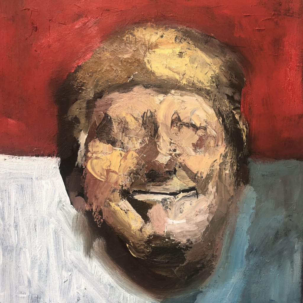 This F****** Guy by Daniel Adkins, Oil on Canvas