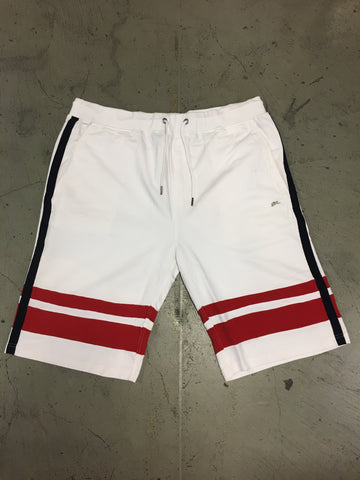 A. Tiziano Fancy Cotton Shorts - Grady White