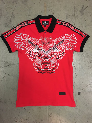 Damati Polo Shirt DMT 165 - Red