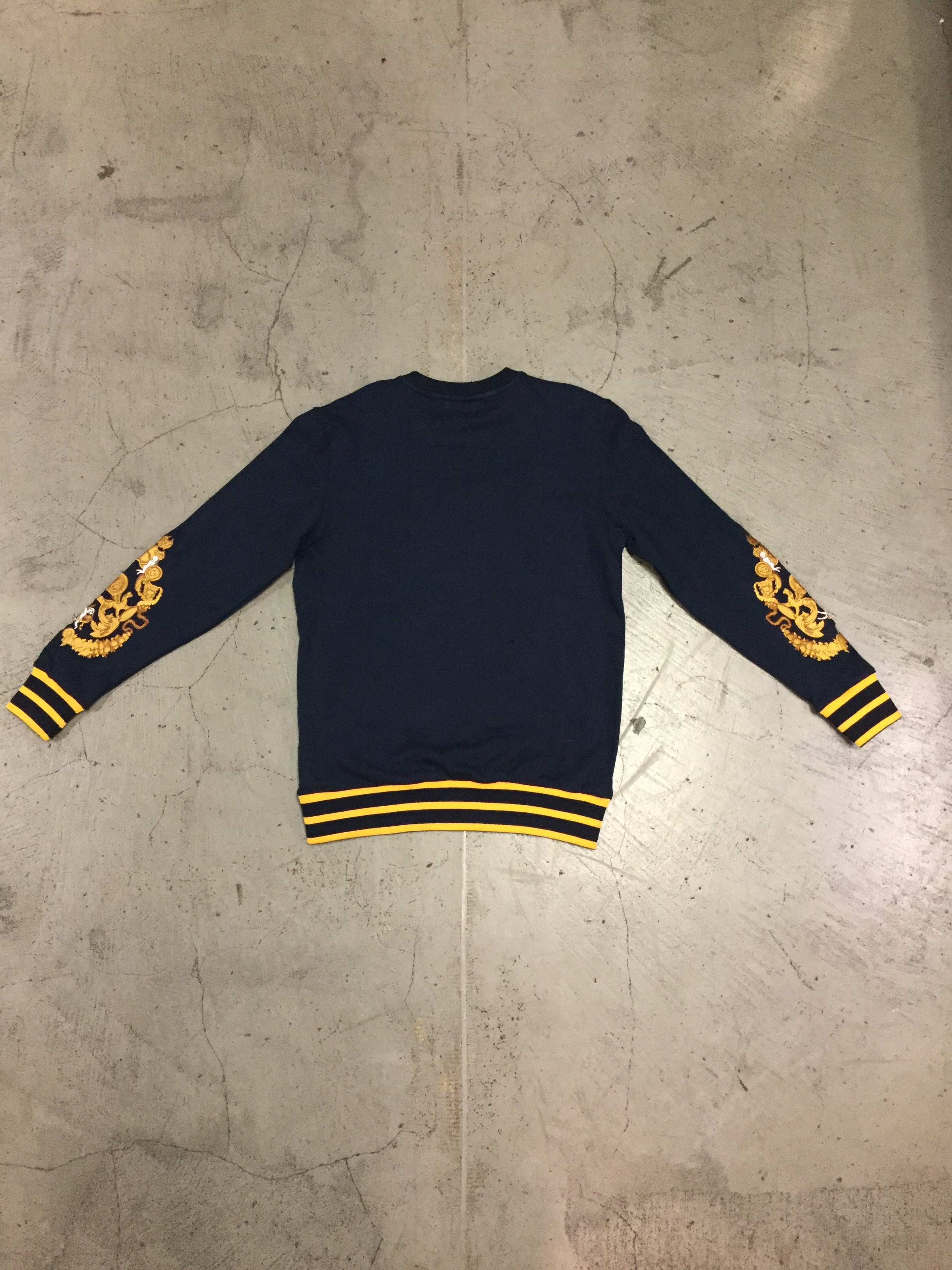 Damati Crewneck Sweatshirt - Navy