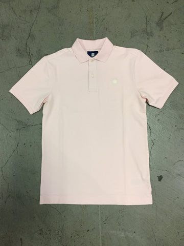 G Star Raw Polo - Bleach Pink