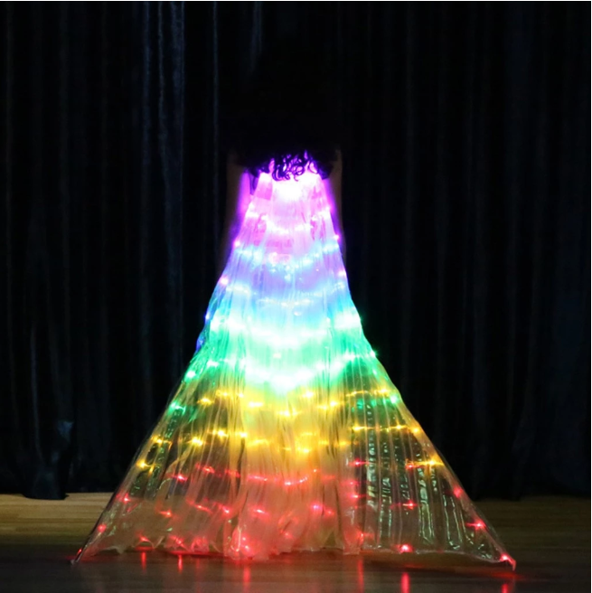 RAINBOW WINGS - LED BUTTERFLY COSTUME(FOR KIDS)