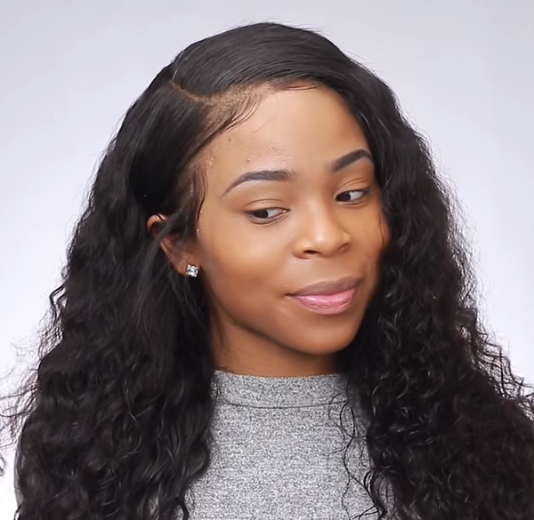 WOWAFRICAN | Curly Wigs  Lace front wig LACE Front WIG