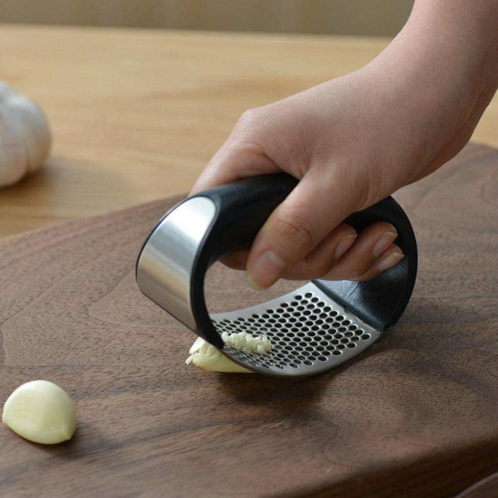 Manual Stainless Steel Garlic Presser