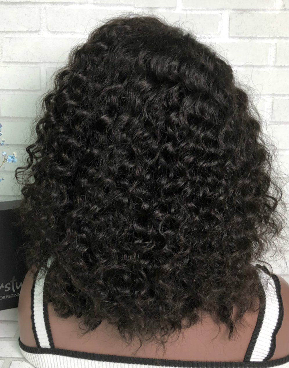 Curly Wigs  Lace front wig-Bob021