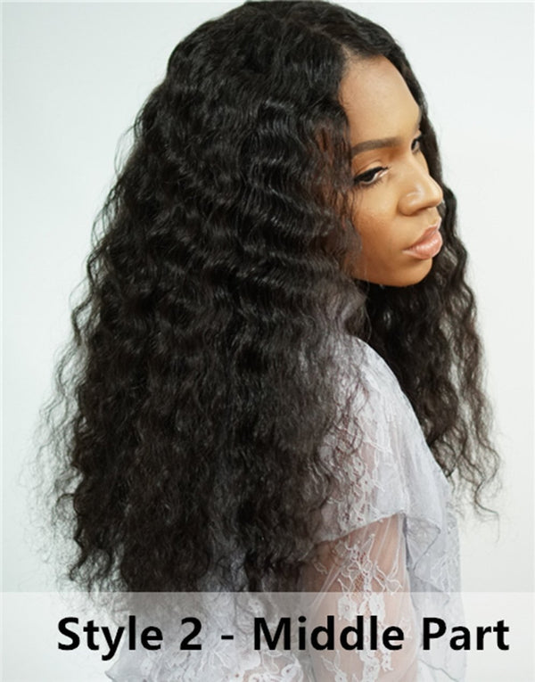 Curly Wigs  Lace front wig synthetic wig-Bod018