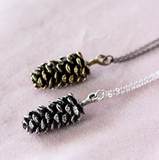 Birch Jewellery Pine Cone Necklace