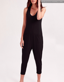 Smash and Tess THE SATURDAY ROMPER IN MIDNIGHT BLACK