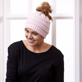 Tickled Pink Messy Bun Hats