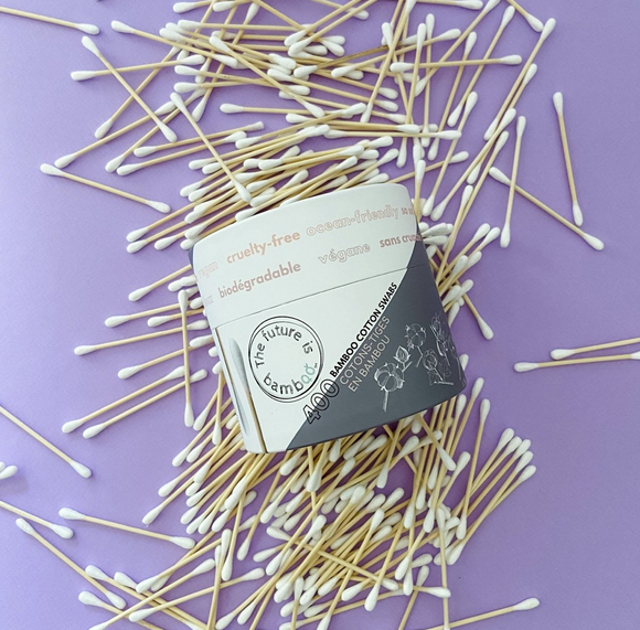 The Future is Bamboo - Biodegradable Cotton Swabs - 400 count