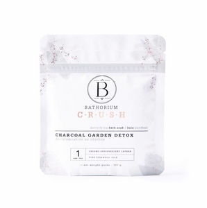 Bathorium CRUSH Charcoal Garden Detox