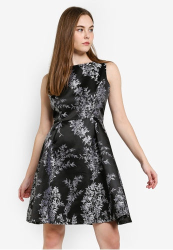 Angel Eye Black Silver Hettie Dress