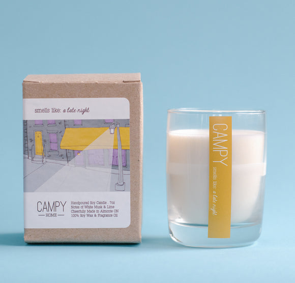 Campy Candle