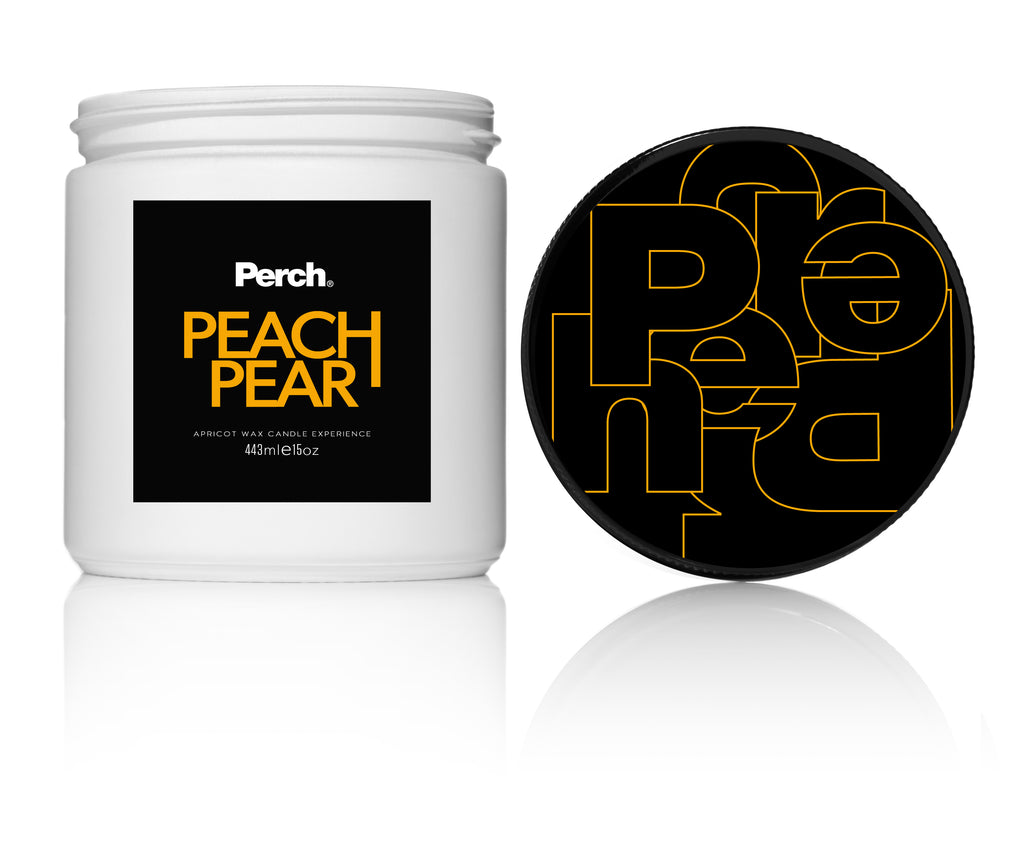 Peach Pear Jumbo Candle