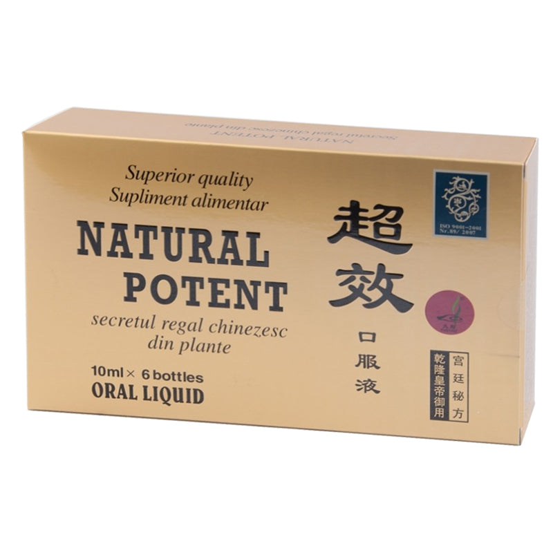 Natural potent 6 fiole