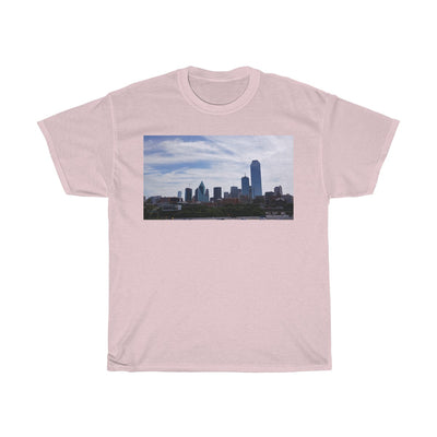 Dallas Skyline - Unisex Heavy Cotton Tee