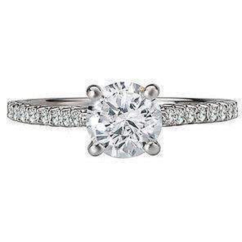 Semi-Mount Diamond Engagement Ring Semi Mount