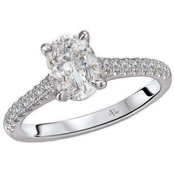 Cathedral Style Semi-Mount Engagement Ring