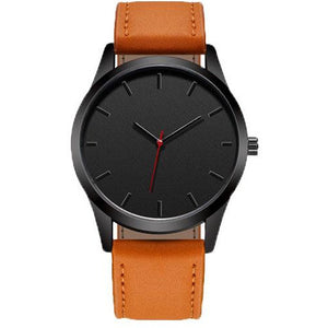 All Black Flare Watch