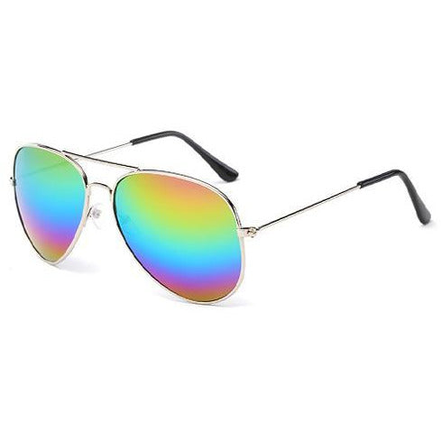 Rainbow Pilot Sunglasses
