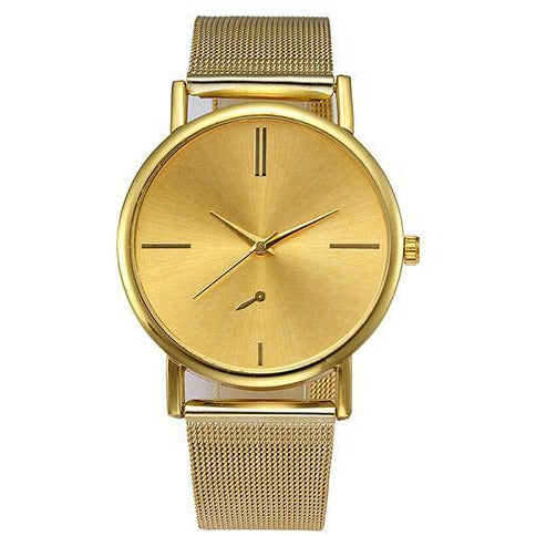 Simple Gold Ladies Watch