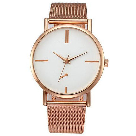 Simple Rose Ladies Watch