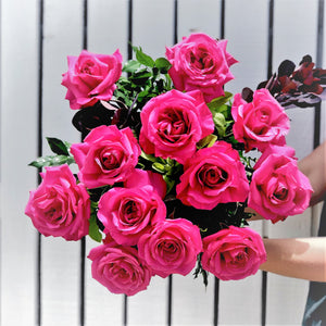 Romantic Pink Rose Bouquet