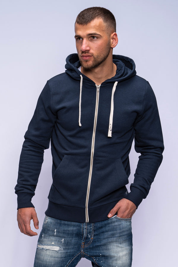 Sweatjacke HAVOS Zip Navy