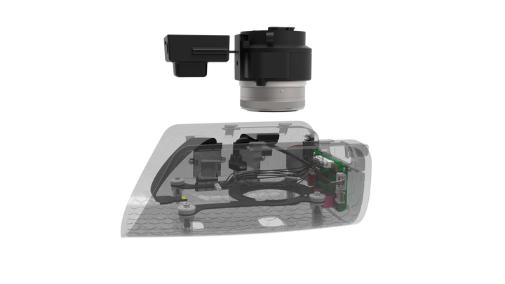 Quantum Systems - Trinity F9 - Combined Payload Compartment (CPC) Tetracam Snap Multi-Spec + Sony UMC 21mp