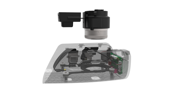 Quantum Systems - Trinity F9 - Combined Payload Compartment (CPC) Micasense Rededge-M Multi-spec + Sony UMC 21 mp RGB