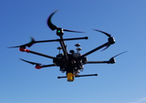Laser Falcon installed on a DJI Matrice 600 to detect methane