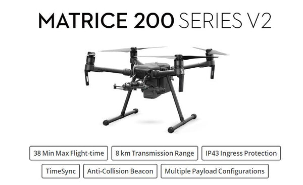 DJI Matrice 200 Quadcopter V2